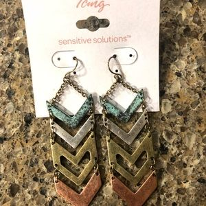 Icing Earrings (Sensitive Solutions)